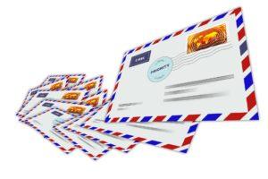 Briefliche Mitteilungen sind vom Grundgesetz geschützt.