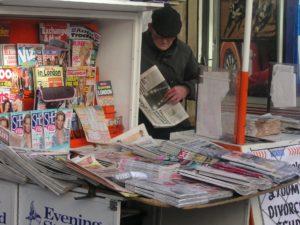 Unter die Pressefreiheit werden in erster Linie klassische Presseerzeugnisse wie Zeitungen gefasst.